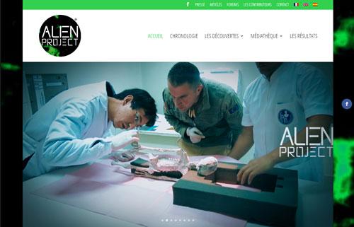 Alien Project - Site internet dédié à la découverte et à l'étude de momies tridactyles à Nasca