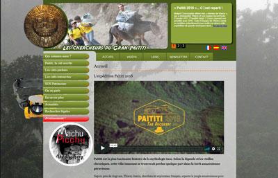 Gran Paititi - Site internet de Thierry Jamin sur la recherche de Païtiti