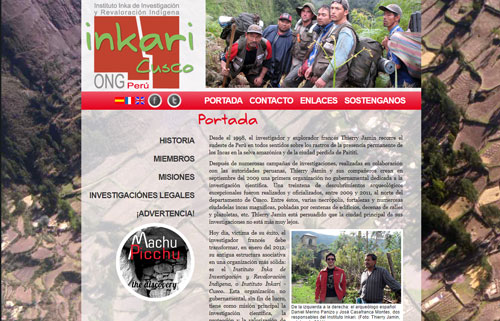 Instituto Inkari Cusco, ONG fondée par Thierry Jamin